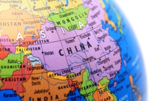 China-in-Asia-on-Map