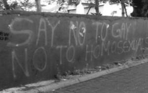 MaldivesLGBTHateGraffiti