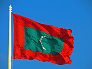 maldivian flag waving wallpaper flag of maldives
