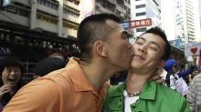 Chinese gays AP