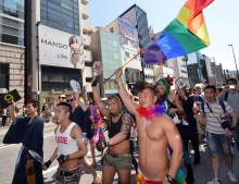 JAPAN-SOCIETY-GAY-PARADE